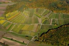 Weinlage Donnersdorfer Falkenberg - Luftaufnahme